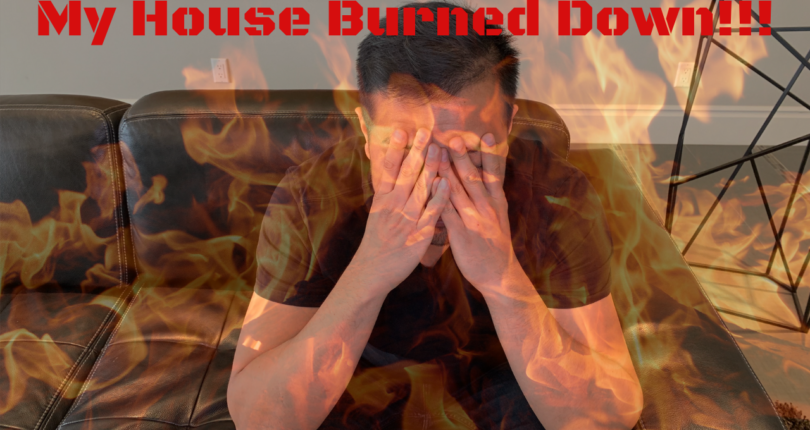 My Investment Property Burned Down (VIDEO)